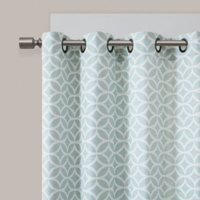 Madison Park Claire 2-Pack Grommet-Top Curtain Panels