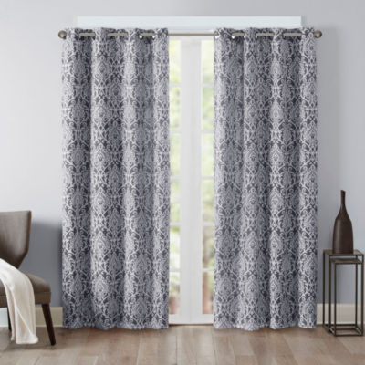 Madison Park Matera Blackout Grommet-Top Curtain Panel