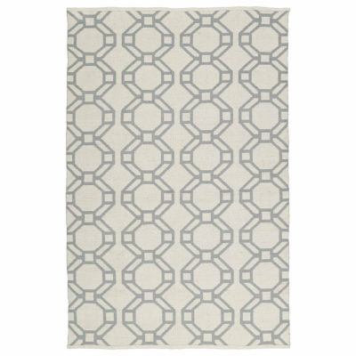 Kaleen Brisa Rings Negative Rectangular Rugs