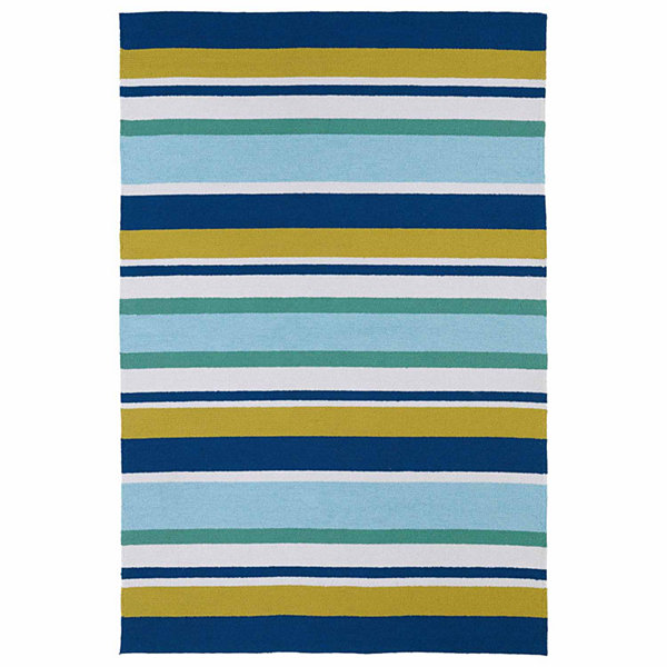 Kaleen Matira Multi-Stripe Hand Tufted Rectangular Rugs