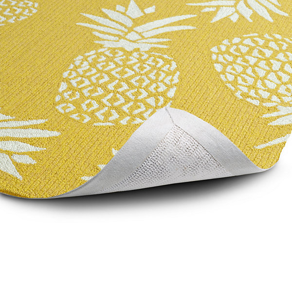 Kaleen Sea Isle Pineapple Hand Tufted Rectangular Rugs