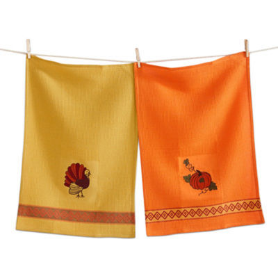 Tag Thanksgiving Assorted 2-pc. Kitchen Towel