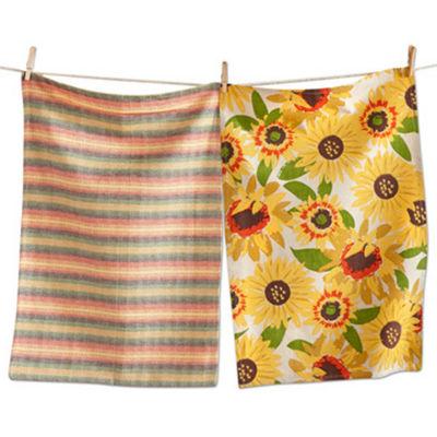 Tag Hello Sunshine Sunflower 2-pc. Kitchen Towel