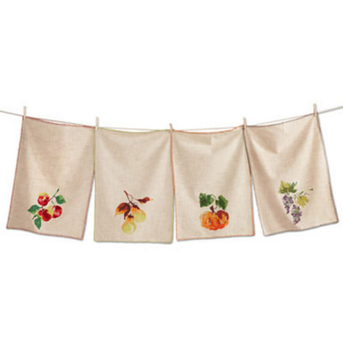 Tag Market Fresh Assorted 4-pc. Kitchen Towel