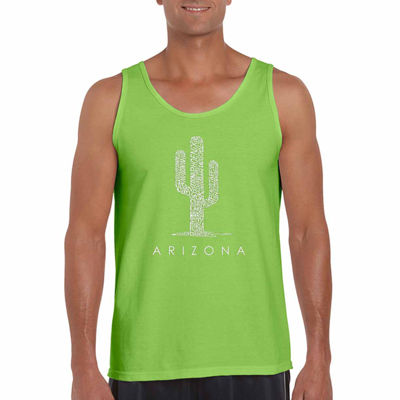 Los Angeles Pop Art Arizona Cities Tank Top