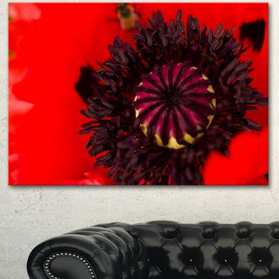 Designart Garden In Full Bloom On Summer Day Flowers Canvas Wall Artwork