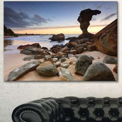 Designart Noraville Central Coast Australia ModernSeashore Canvas Art