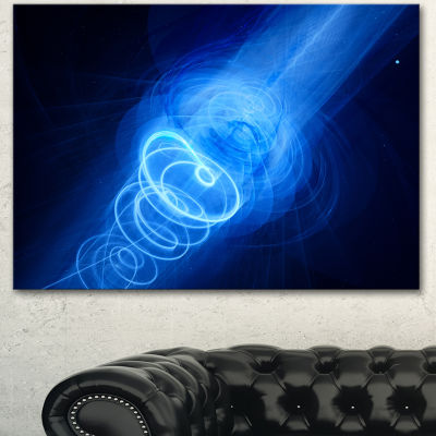 Design Art New Plasma Weapon In Space Large Abstract Canvas Wall Art