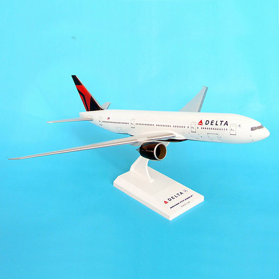 Sky Marks Delta Airlines 777-200 2007 Livery ModelBuilding Kit  1/200 Scale