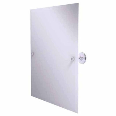 Allied Brass Shadwell Collection Frameless Rectangular Tilt Mirror with Beveled Edge