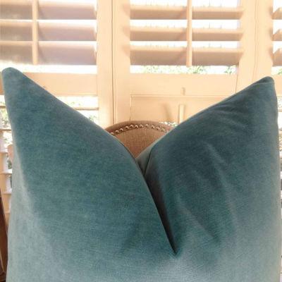 Plutus Contentment Peacock Handmade Throw Pillow