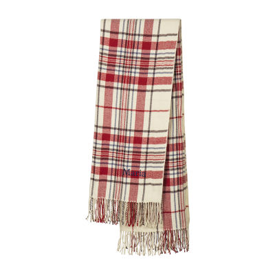 Cathy's Concepts Personalized Plaid Throw