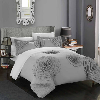 Chic Home Birdy 7-pc. Duvet Cover Set