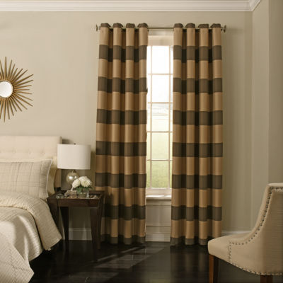 Beautyrest Gaultier Blackout Grommet-Top Curtain Panel
