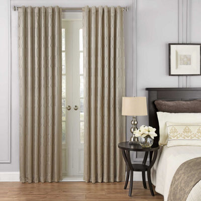 Beautyrest Yvon Blackout Rod-Pocket Curtain Panel