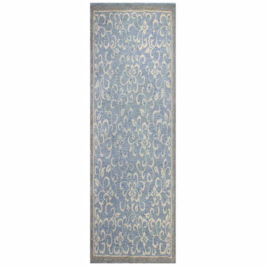 Eleanor Wool & Viscose Hand Tufted Area Rug
