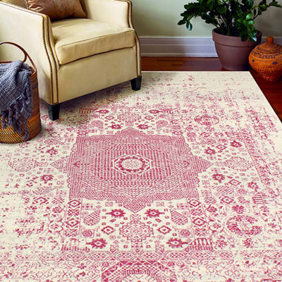 Fanny Polypropylene Machine Made Area Rug