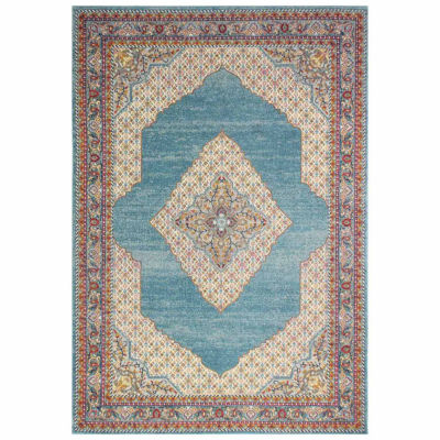 Fatima Polypropylene Machine Made Area Rug