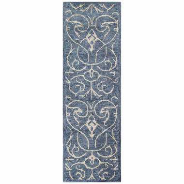 Peyton Wool & Viscose Hand Tufted Area Rug