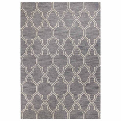 Lyme 100% Wool Hand Tufted Area Rug