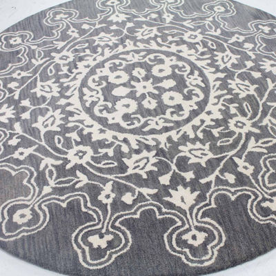 Madison 100% Wool Hand Tufted Area Rug