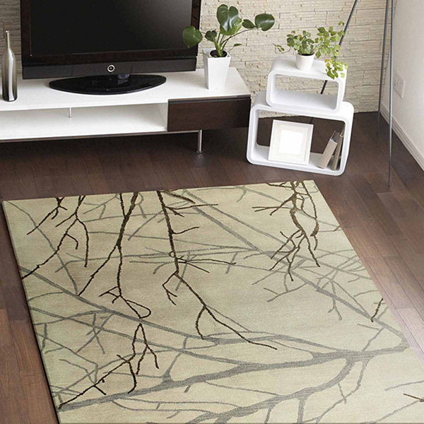 Claire Wool & Viscose Hand Tufted Area Rug