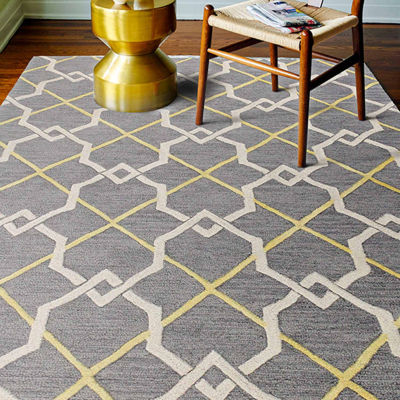 Clayton 100% Wool Hand Tufted Area Rug