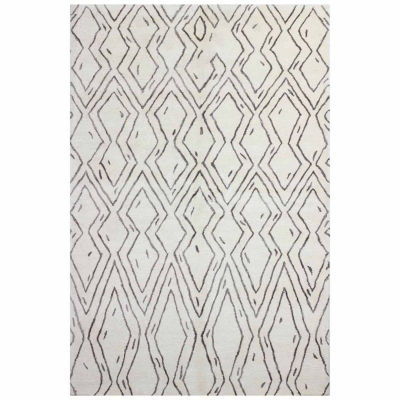 Corona Wool & Viscose Hand Tufted Area Rug