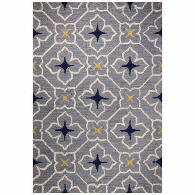 Darcy 100% Wool Hand Tufted Area Rug