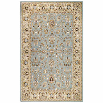 ST. CROIX TRADING Sea Foam Traditions Waterford Rug