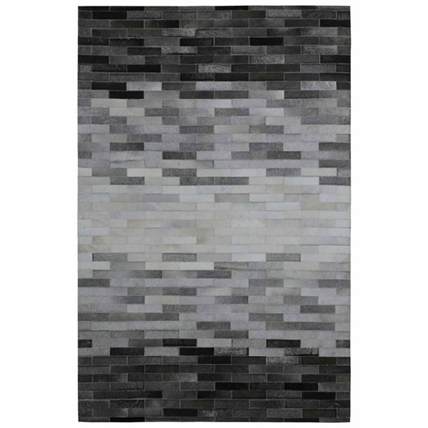St. Croix Trading Blend Leather Hair-On Hide Matador Rectangular Rugs