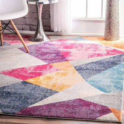 nuLoom Abstract Mosaic Anya Rug