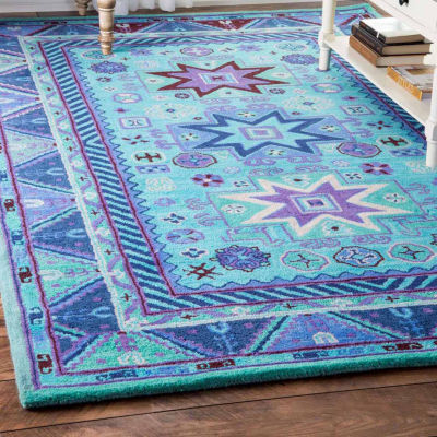 nuLoom Hand Tufted Tribal Dalila Rug