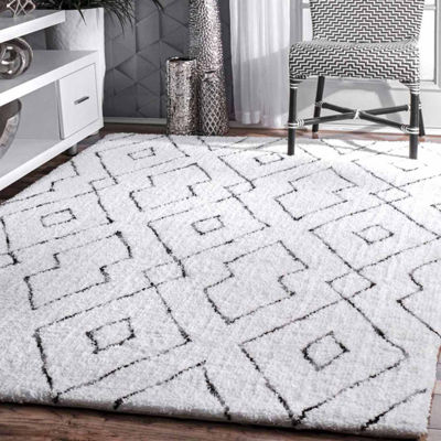 nuLoom Hand Tufted Beaulah Shaggy Rug