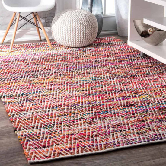 nuLoom Hand Woven Chevron Rochell Rug
