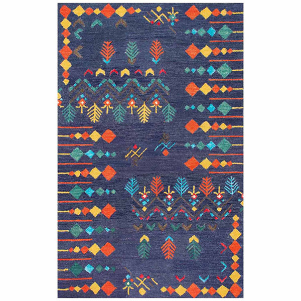 nuLoom Hand Tufted Gabbeh Tribal Jannet Rug