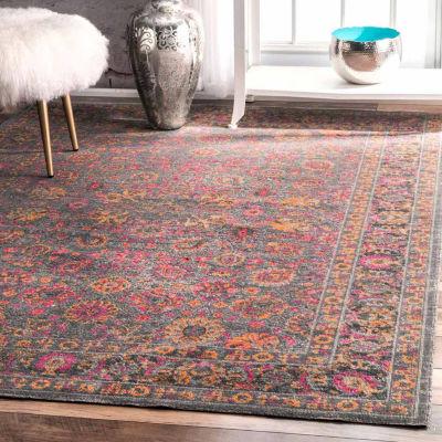 nuLoom Vintage Persian Floral Isela Rug