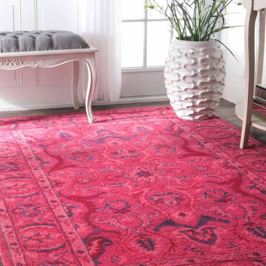 nuLoom Hand Tufted Kimberly Overdyed Rug