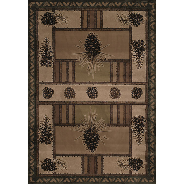 United Weavers Contours John Q Collection Pine Barrens Rectangular Rug