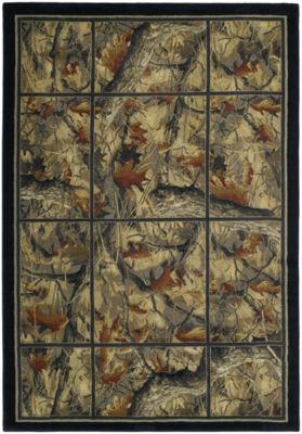 United Weavers Hautman Collection Camouflage GridRectangular Rug