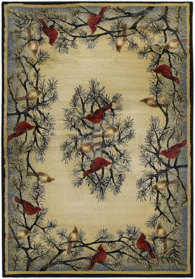 United Weavers Hautman Collection Cardinal In PineRectangular Rug