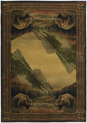 United Weavers Hautman Collection Grizzly MountainRectangular Rug