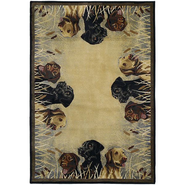 United Weavers Hautman Collection Labs In Marsh Rectangular Rug
