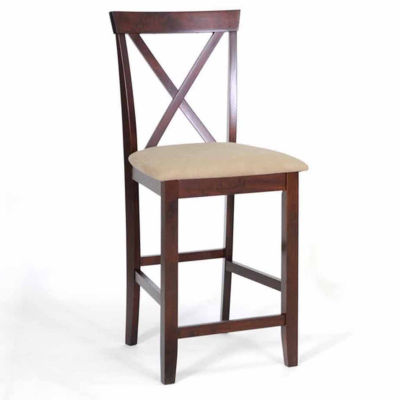 Baxton Studio Natalie Counter Height 2-pc. Bar Stool