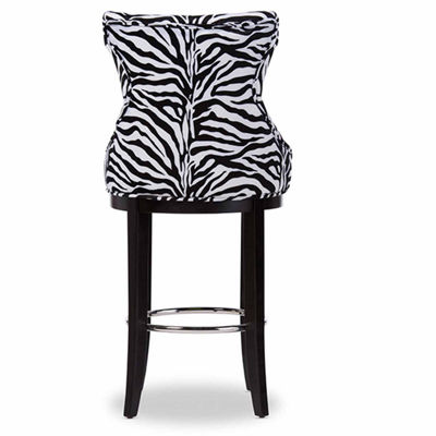 Baxton Studio Peace Upholstered Bar Stool
