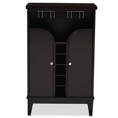 Baxton Studio Easton Wine Cabinet