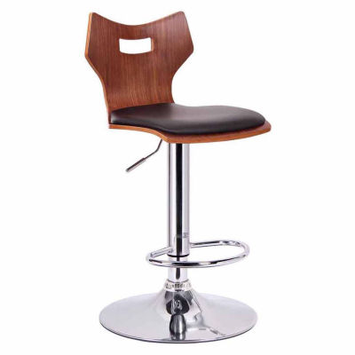 Baxton Studio Amery 2-pc. Swivel Bar Stool