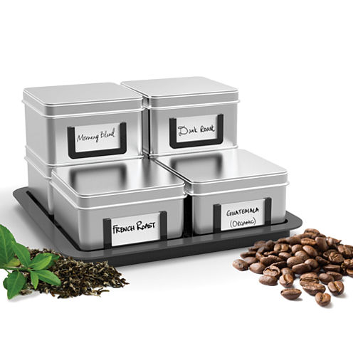 Mind Reader - Stax Storage Canisters Set