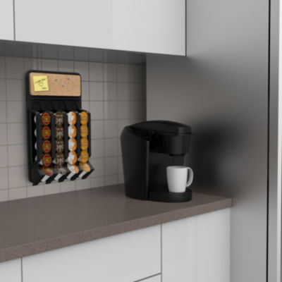 Mind Reader Wall Mount Coffee Pod Dispenser