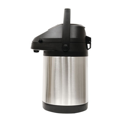 Thermal Brushed Stainless Steel 85 oz. Carafe with Pump Dispenser